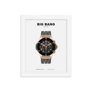 HISTORY OF TIME: BIG BANG (FRAMED)