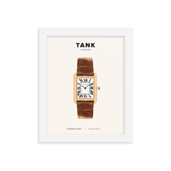 A HISTORY OF TIME: TANK (FRAMED)