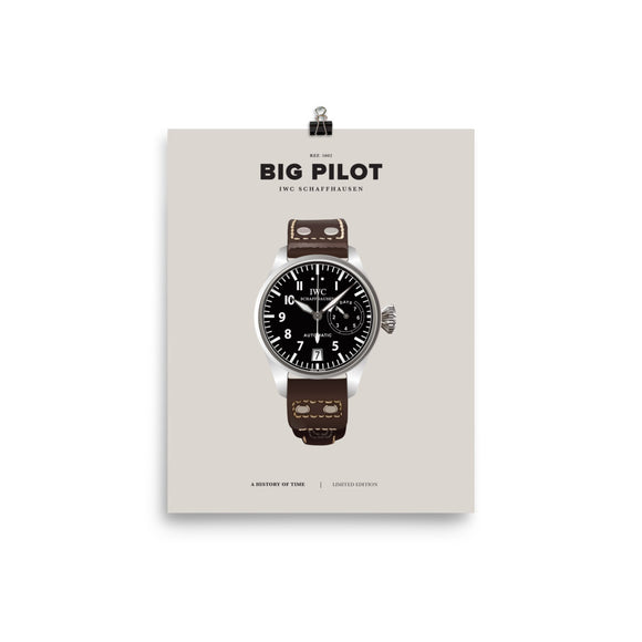 HISTORY OF TIME: BIG PILOT