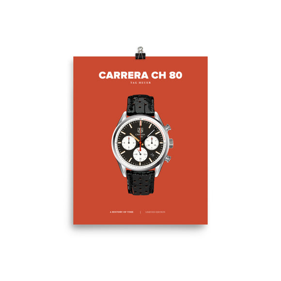HISTORY OF TIME: CARRERA CH 80