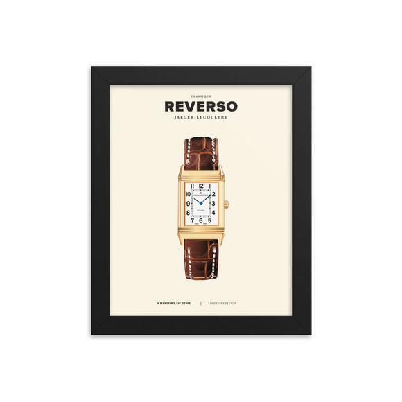 HISTORY OF TIME: REVERSO (FRAMED)