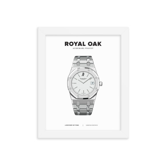 HISTORY OF TIME: ROYAL OAK (FRAMED)