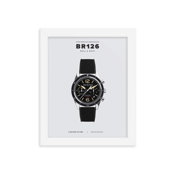 HISTORY OF TIME: BR126 (FRAMED)