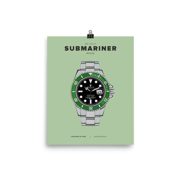 HISTORY OF TIME: SUBMARINER