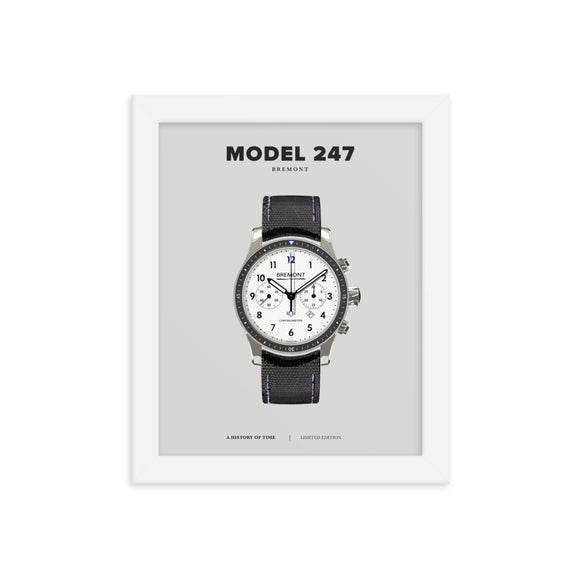 HISTORY OF TIME: MODEL 247 (FRAMED)