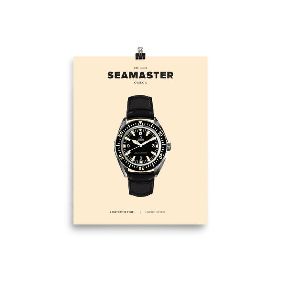 HISTORY OF TIME: SEAMASTER