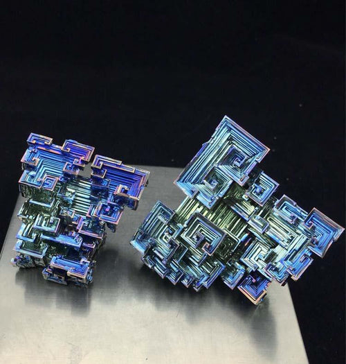 Bismuth Crystal - 20 too 200 gms NZ Quantum Healing
