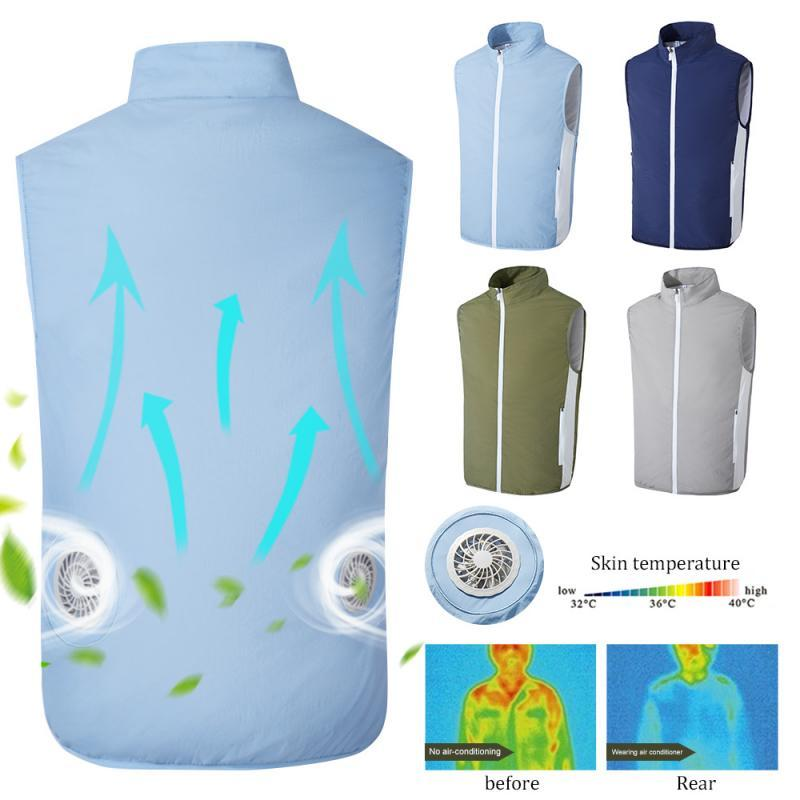 Cooling USB - Fan Air Vest NZ Bound
