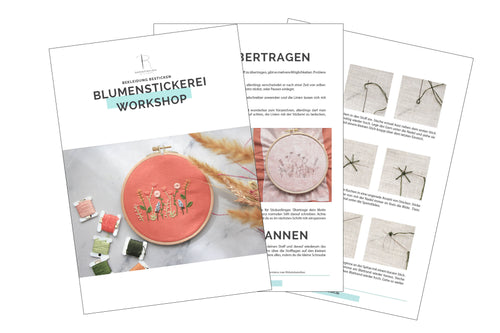 Digitaler Blumenstickerei-Workshop