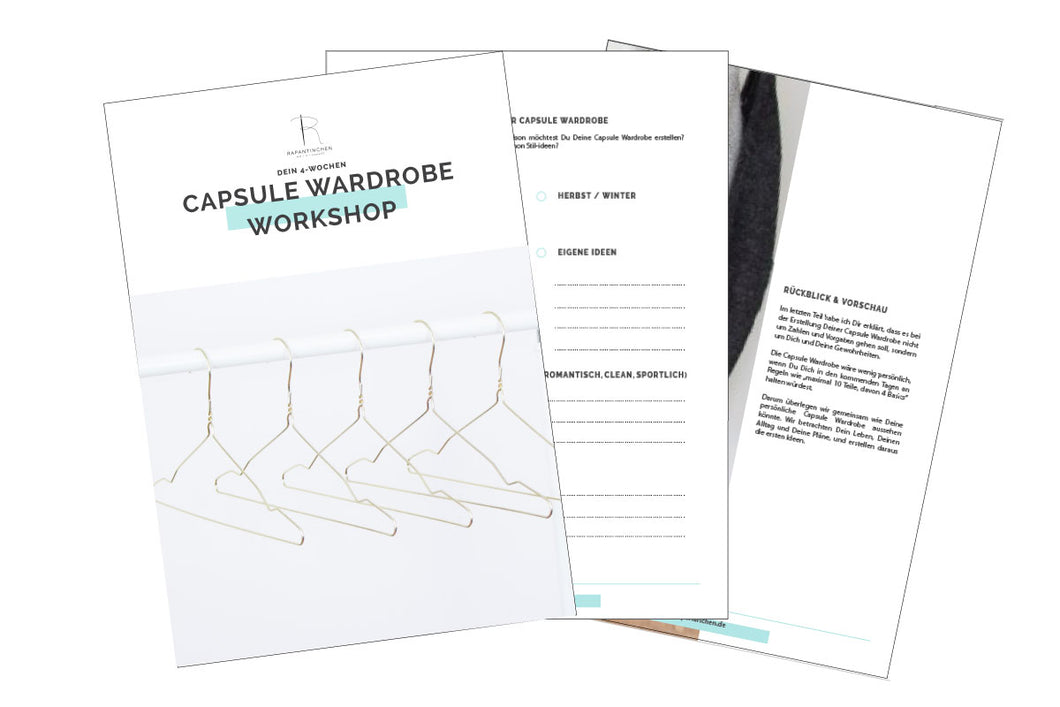 Digitaler Capsule Wardrobe Workshop