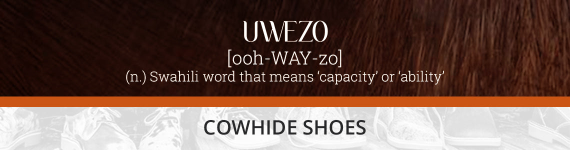 Uwezo Cowhide Shoes