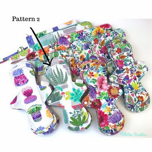 Cloth Pads - Billette's Baubles - LittlePlasticFootprint