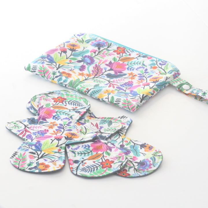 Cloth Pad Starter Set  - Billette's Baubles - LittlePlasticFootprint