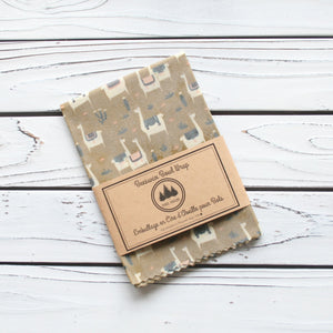 Beeswax Wrap (Bowl Size) - Three Huggers - LittlePlasticFootprint