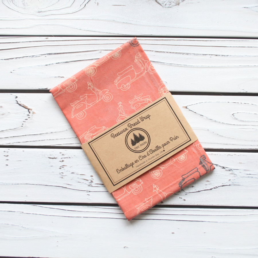 Beeswax Wrap (Bread Size) - Three Huggers - LittlePlasticFootprint