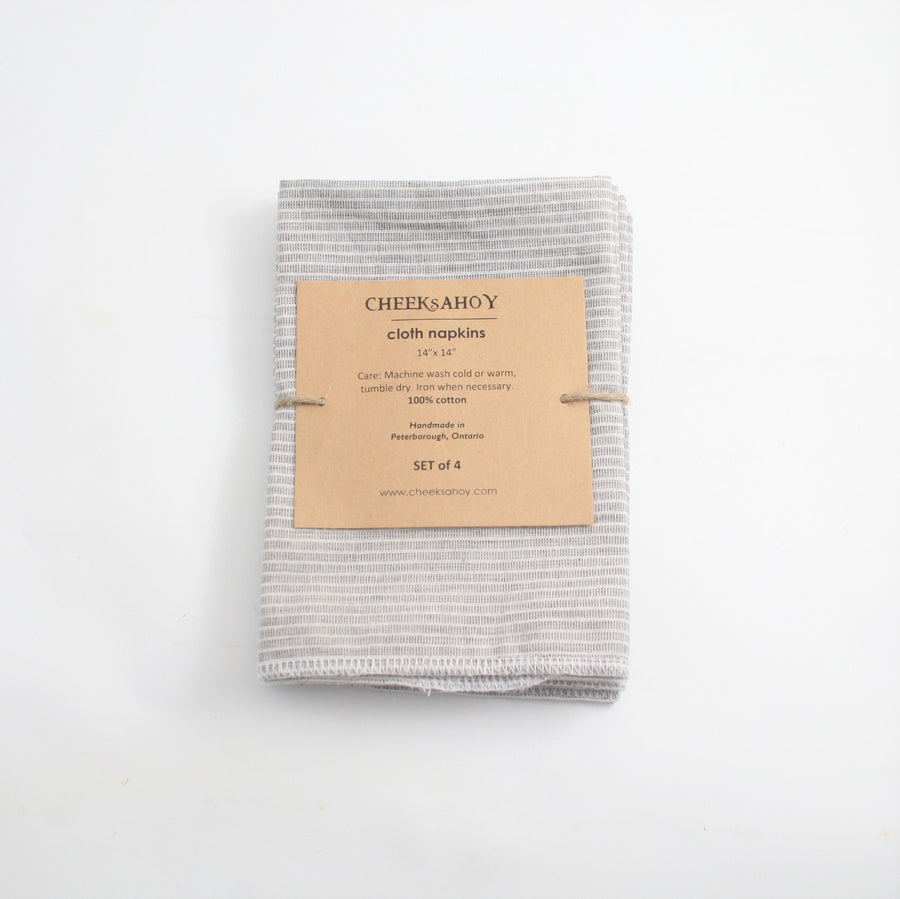 Cloth Napkins - Cheeks Ahoy - LittlePlasticFootprint