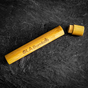 Bamboo Toothbrush Travel Case - OLA bamboo - LittlePlasticFootprint