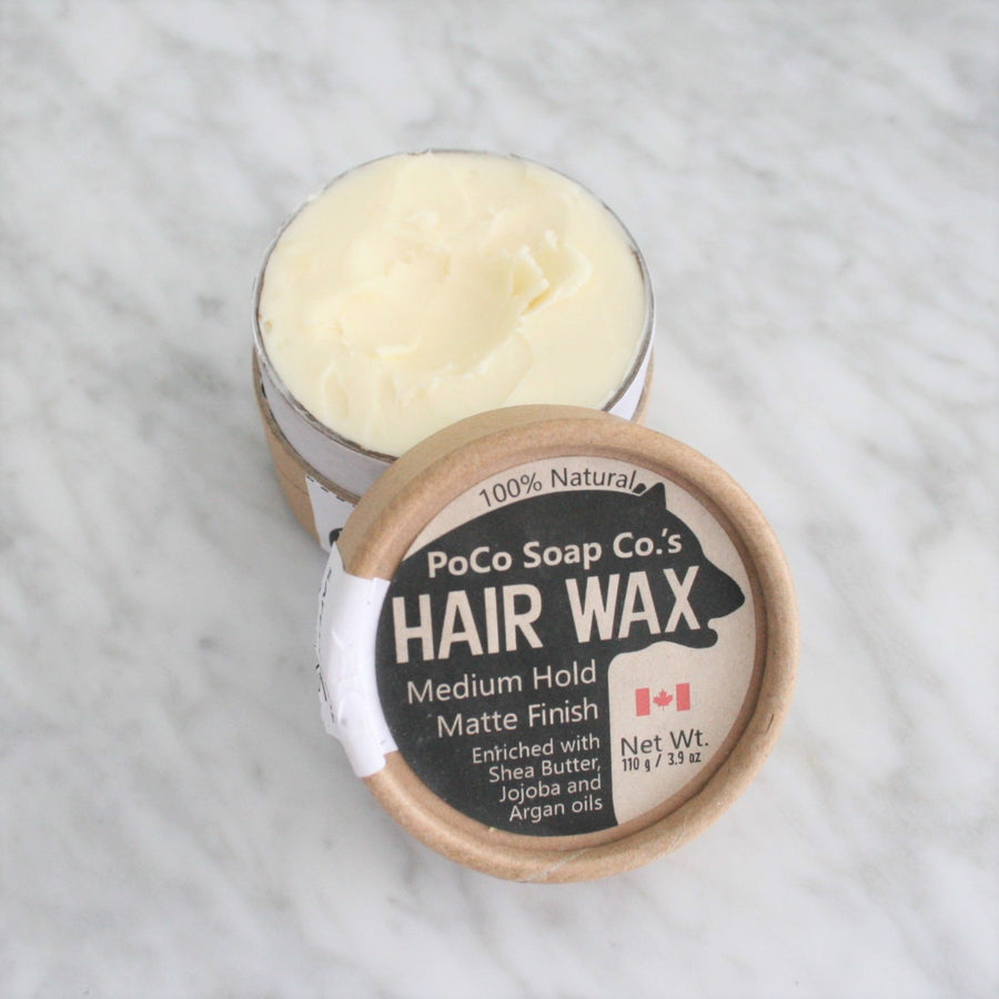 Hair Wax - PoCo Soap Co - LittlePlasticFootprint