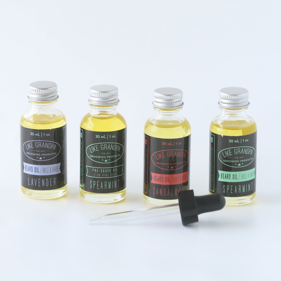 Beard Oil - Like Grandpa - LittlePlasticFootprint