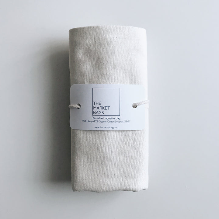Reusable Baguette Bag - The Market Bags - LittlePlasticFootprint