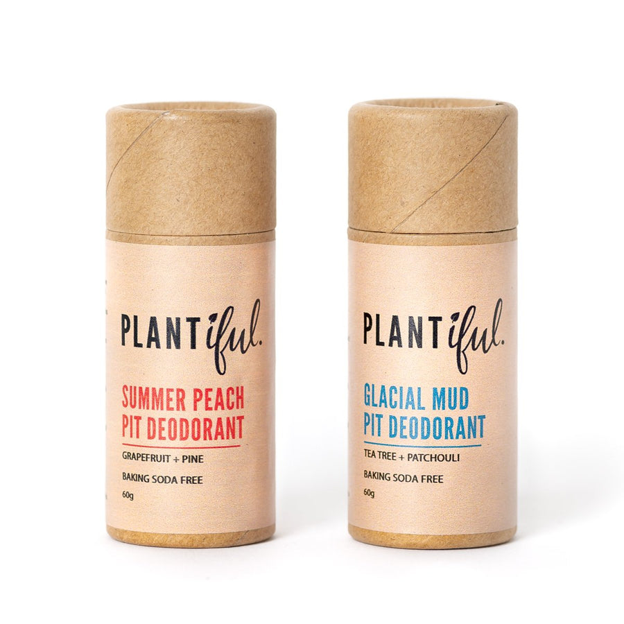 Natural Deodorant (Clay Blend) - PLANTiful - LittlePlasticFootprint