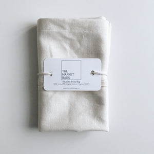 Reusable Bread Bag - The Market Bags - LittlePlasticFootprint
