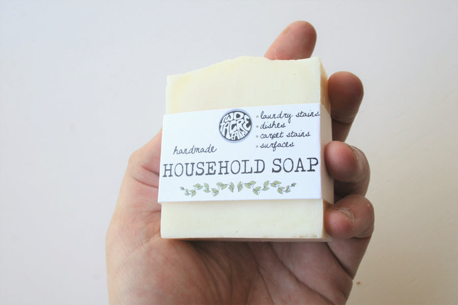 Handmade Household Soap - Two Acre Farm - LittlePlasticFootprint