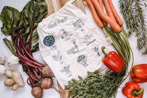 """Choose to Reuse"" Produce Bag - Your Green Kitchen - LittlePlasticFootprint"