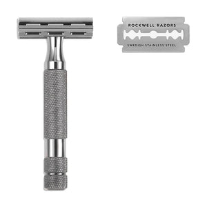 Safety Razor 2C with blades - Rockwell Razors - LittlePlasticFootprint