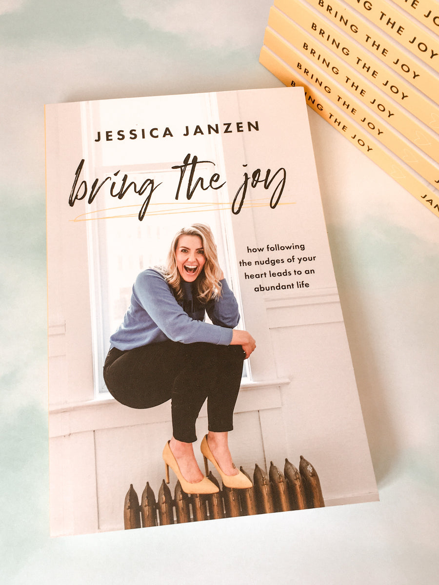 Bring the Joy- Jessica Janzen - LittlePlasticFootprint