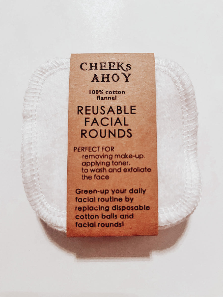 Facial Rounds - Cheeks Ahoy - LittlePlasticFootprint