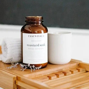 Mustard Bath Soak - Essentials by Nature - LittlePlasticFootprint