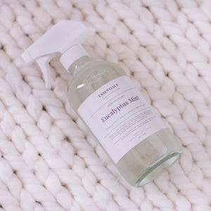 Linen and Body Spray (Lavender or Eucalyptus Mint)- Essentials by Nature - LittlePlasticFootprint