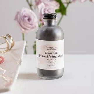 Charcoal Detoxifying Mask - Essentials by Nature - LittlePlasticFootprint