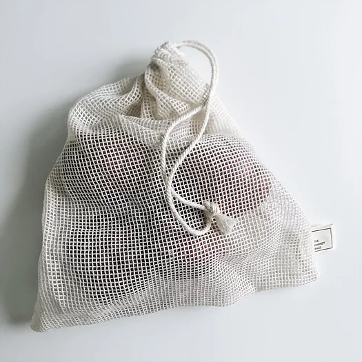 Large Mesh Produce/Bulk Bag - The Market Bags - LittlePlasticFootprint