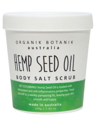 Hemp Oil Body Salt Scrub 200g