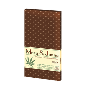 Bild in Slideshow öffnen, Mary & Juana Chocolate 95g