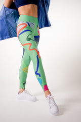 Wear AM Sub-T legging performance and art