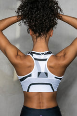 Gateway graphite sports bra