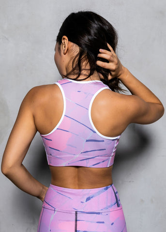 The Chalkstone racerback sports bra
