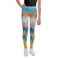 Distortion youth legging