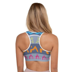 Hieroglyph sports bra