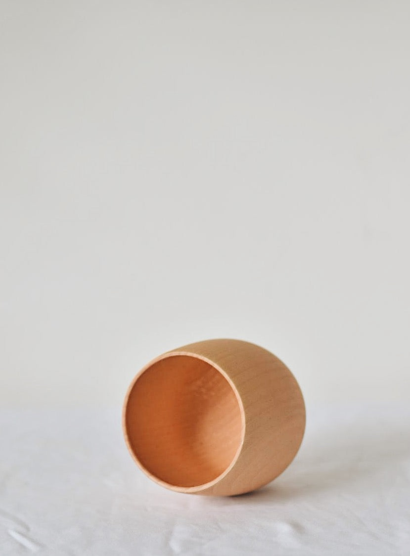 Wooden Cup - thehiatuslabel