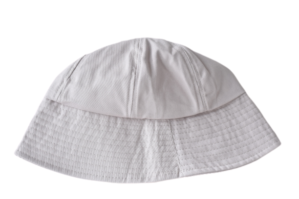White Bucket Hat -Thehiatuslabel