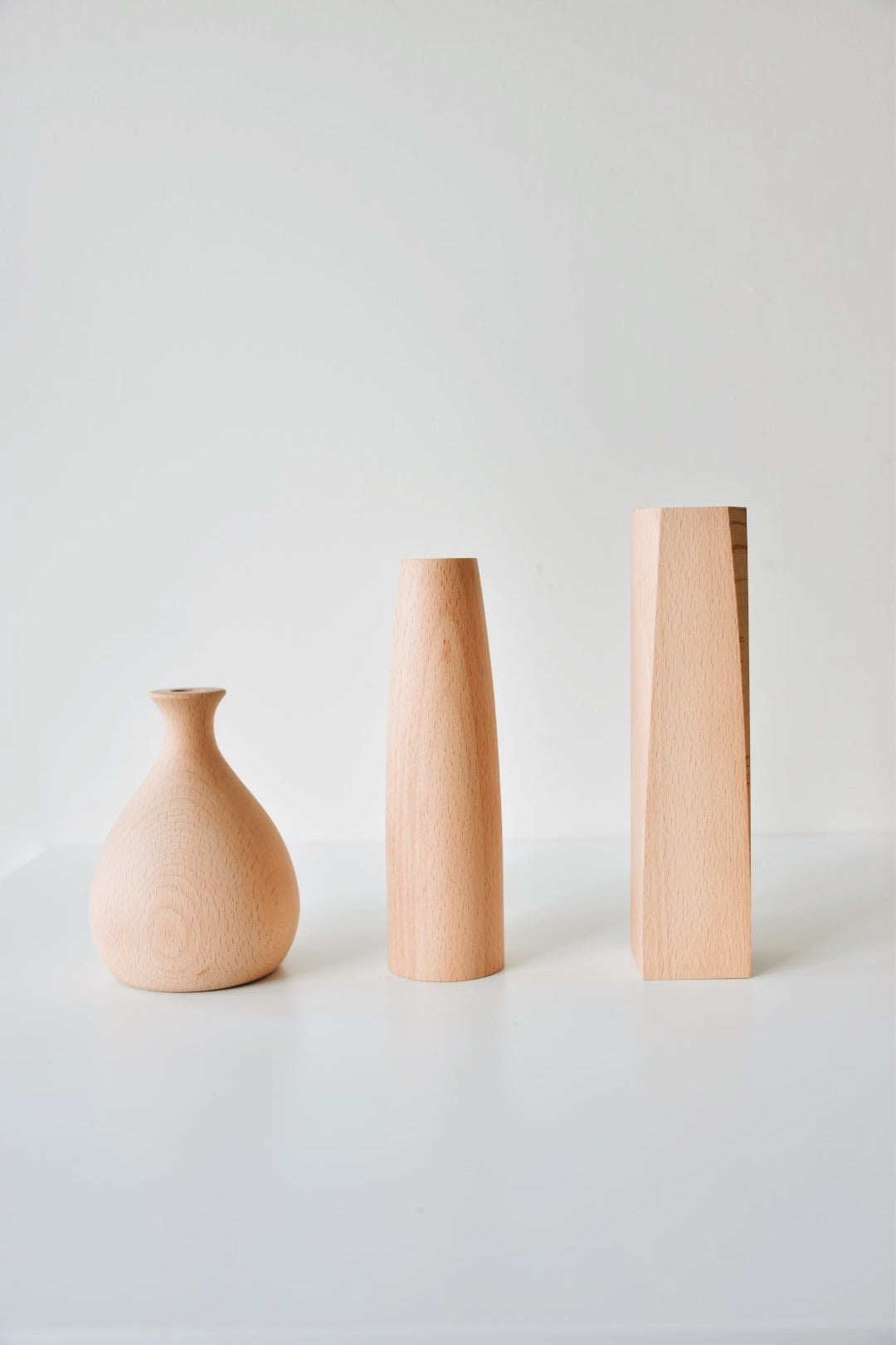 Wooden Vases - Hiatus Home