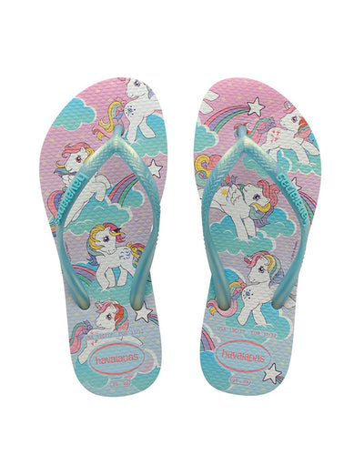 Havaianas Kids Slim my Little Pony White
