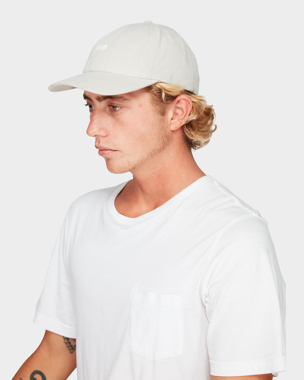 Crushed Linen Hat