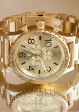 Nixon 51-30m Chrono 51mm All Gold