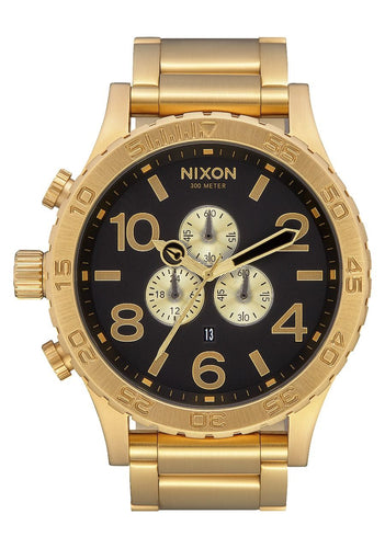 Nixon 51-30m Chrono 51mm All Gold/Blk
