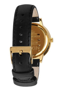 Nixon The Kensington Leather Gold